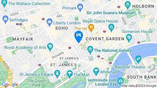 W London Map