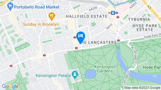 Grand Royale London Hyde Park Map