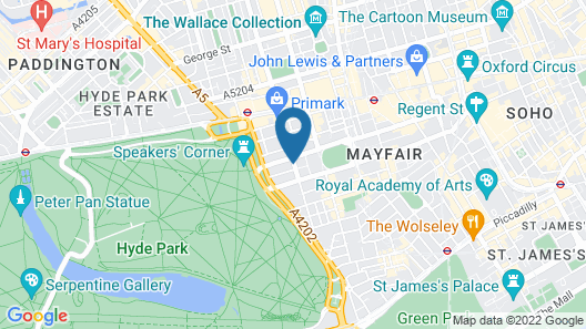 47 Park Street - Grand Residences by Marriott Map
