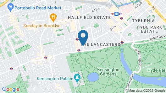 Hyde Park Executive Apartments Map