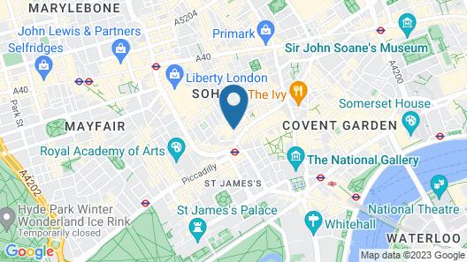 Ham Yard Hotel, Firmdale Hotels Map