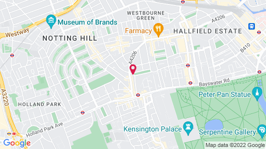 Notting Hill Hotel Map