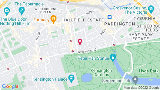Queens Park Hotel Map