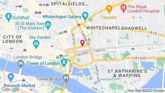 Leonardo Royal London Tower Bridge Map