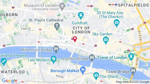 Marlin Apartments London City - Queen Street Map