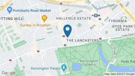 Berjaya Eden Park London Hotel Map