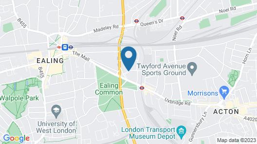 DoubleTree by Hilton London - Ealing Hotel Map