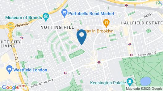 The Portobello Serviced Apartment Map