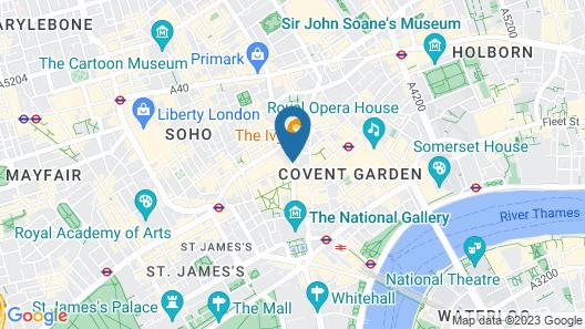 London Covent Garden Map