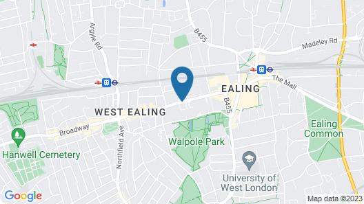 ibis Styles London Ealing Map