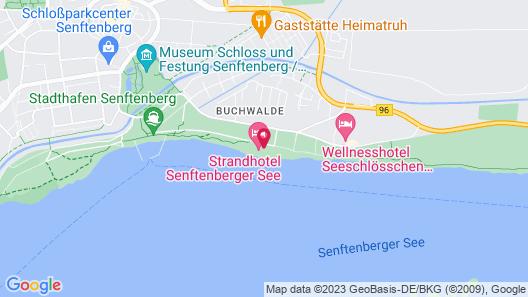 Strandhotel Senftenberger See Map