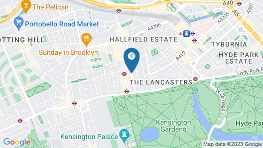 Hyde Park International - Member of Park Grand London Map