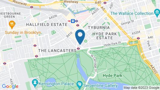 Royal Lancaster London Map
