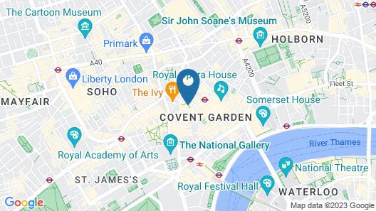 SACO Covent Garden - St Martin's Map