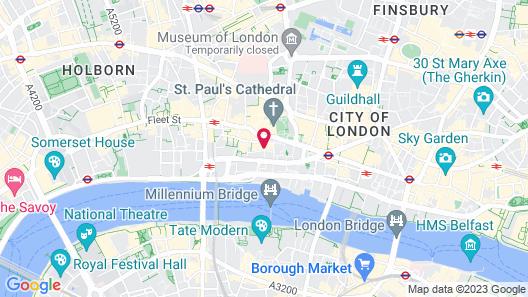 Leonardo Royal London St Paul's Map