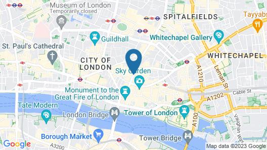 Club Quarters Hotel London City Map