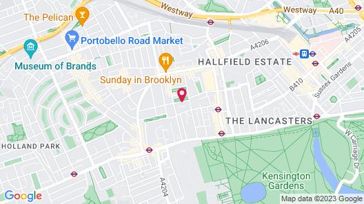 Park Avenue Bayswater Inn Hyde Park Map