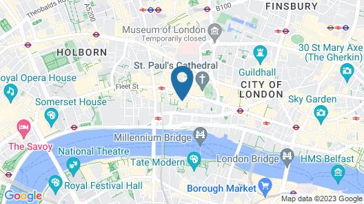 The Kings Wardrobe by Bridgestreet Map
