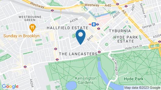 Park Grand London Lancaster Gate Map