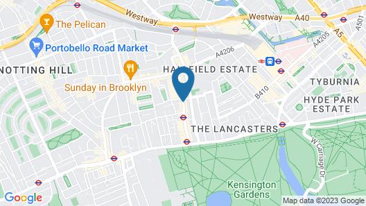 NOX HOTELS - Hyde Park Map