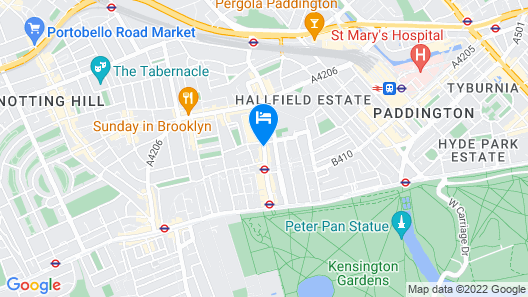 NOX HOTELS - Hyde Park Map