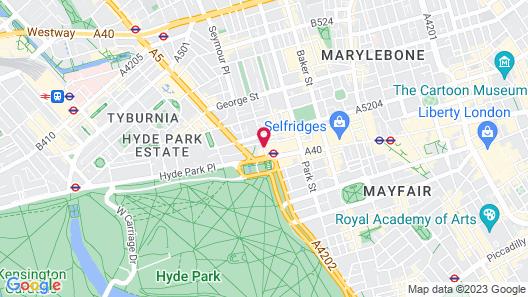 Hard Rock Hotel London Map