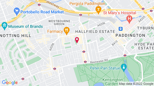 London House Hotel Map