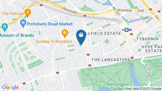 London House Hotel Map