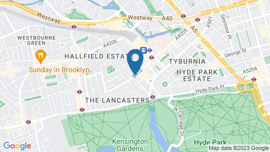 NOX HOTELS - Paddington Map