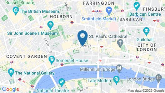 Fleet Street by Servprop Map