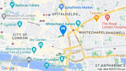 Dorsett City London Map