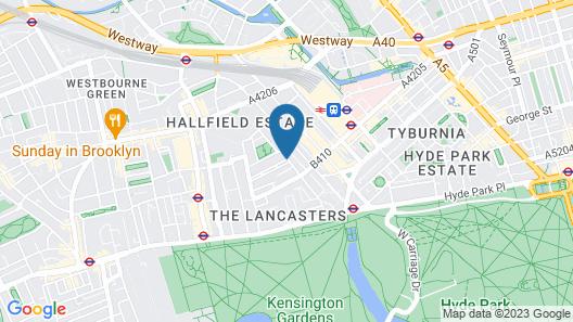 The Park Grand London Paddington Map