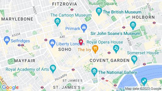 Hazlitt's Hotel Map