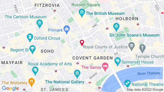 Covent Garden Hotel, Firmdale Hotels Map