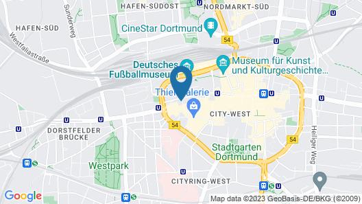 Boutique 102 Dortmund City Map