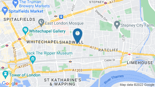 Stay Inn Apartments City Aldgate Map