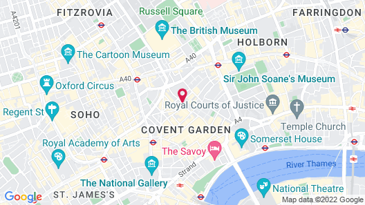 Covent Garden for Shopping Lovers Map
