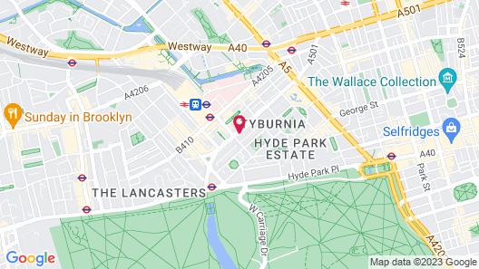 Adare Hotel Map