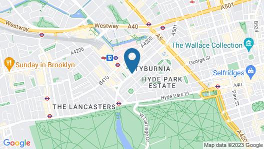 Castleton Hotel Map