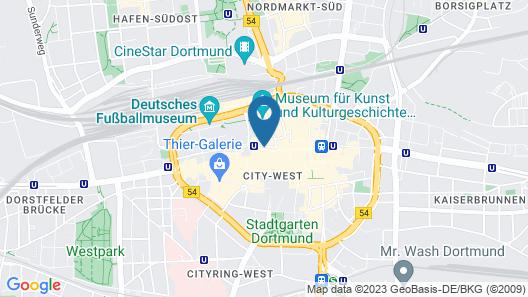 Mercure Hotel Dortmund City Map
