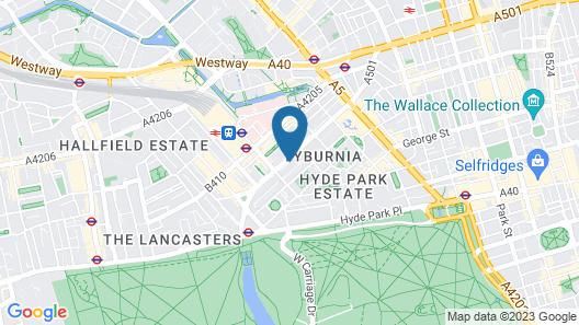 Aaraya London Map