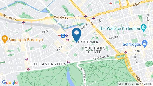 Days Inn by Wyndham London Hyde Park Map