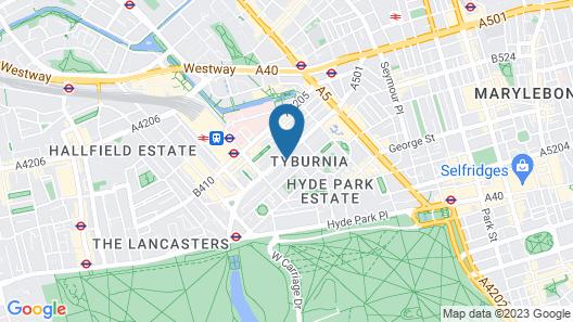 The Darlington Hyde Park Map