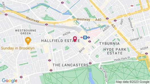 Park Grand London Hyde Park Map