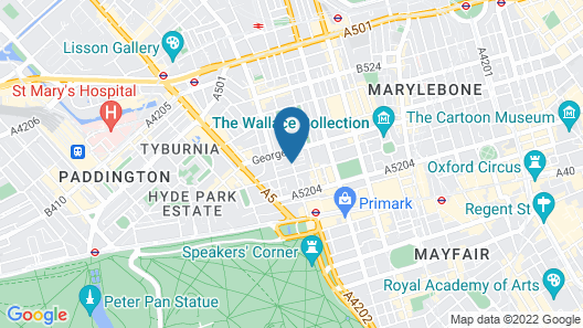 The Prince Akatoki London Map