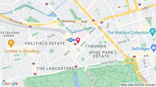 Mercure London Paddington Map