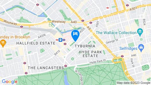 So Paddington Hotel Map
