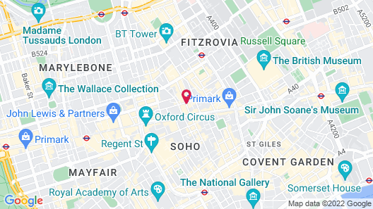 The London EDITION Map
