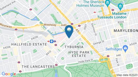 Paddington Stays by Stay Guru Map