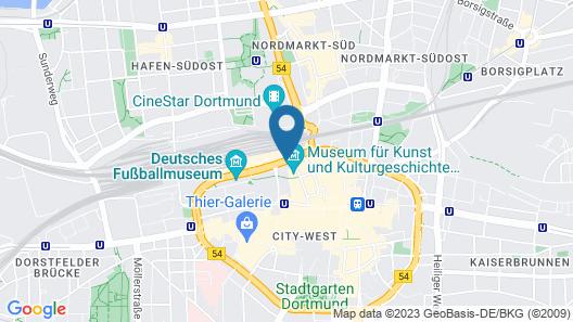 NH Dortmund Map